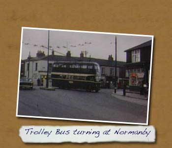 Original bus turning in Normanby
