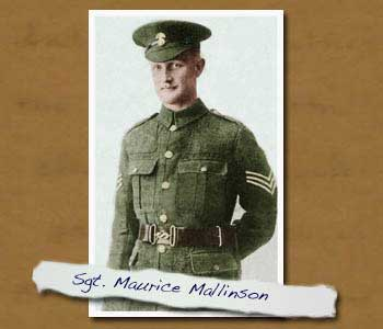 Pic of Sgt Maurice Mallinson
