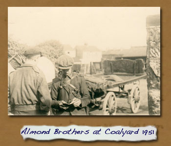Almond Brothers at Coal Yard Top of Cleveland Street 1951