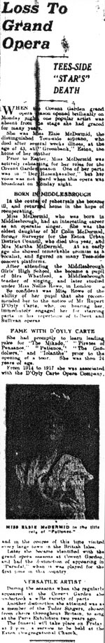 Obituary from Gazette May 1933