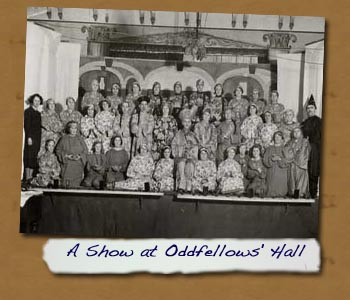 A Show at Oddfellows' Hall
