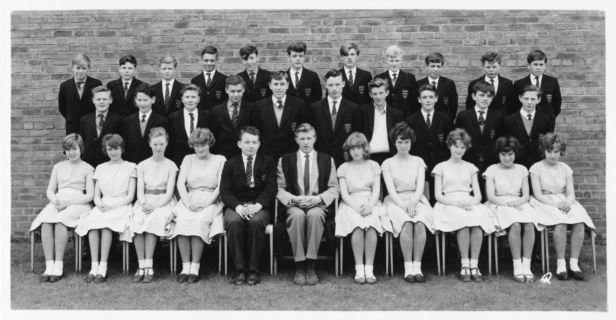 Eston Grammar School 1963 Yearbook Photo Q