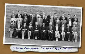 Eston Grammar School 1963 Staff