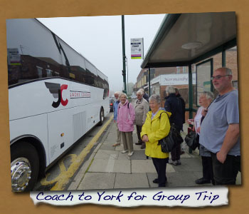 Normanby LHG Trip to York Castle Museum