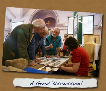 Discussion at Normanby 2011 Exhibition