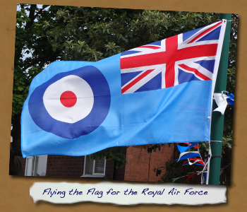 Flying the Flag for the RAF
