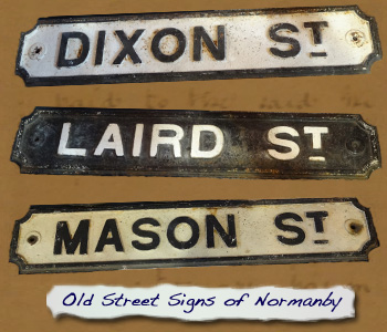 Exhibition 2016 Old Normanby Street Signs