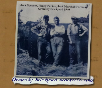 Ormesby Brickyard Workers c.1940