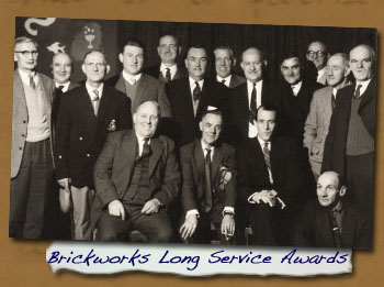 Normanby Brickworks Long Service Awards - Click On This for Larger Image (Opens in New Window)