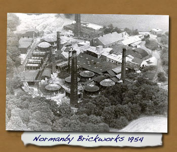 Normanby Brickworks 1954 - Click On This for Larger Image  			(Opens in New Window)