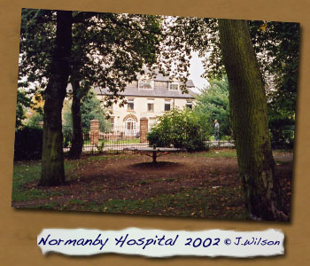 Normanby Hospital 2002 from Park