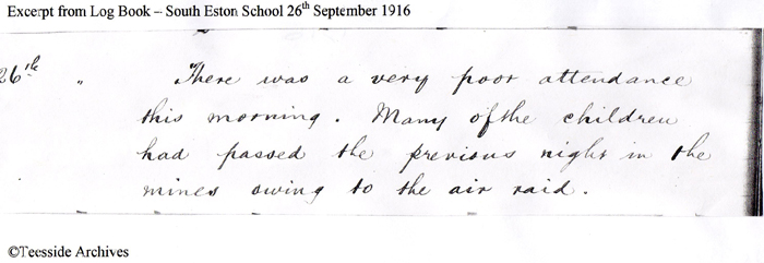 1916 South Eston School Logbook