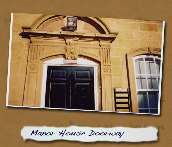 Manor House Doorway now