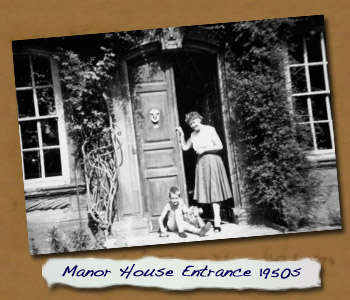 Manor House Entrance 1950s