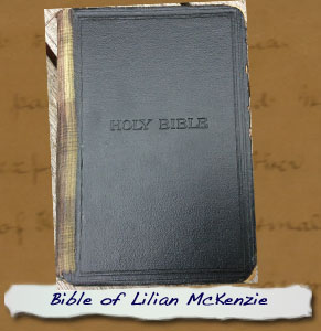 Bible of Lilian McKenzie - Cover