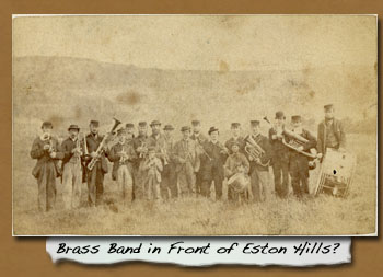 Brass Band in Front of Eston Hills? - Click On This for Larger Image  			(Opens in New Window)