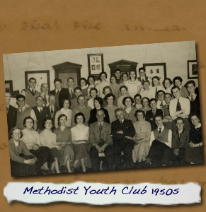 Normanby Methodist Youth Club 1950s