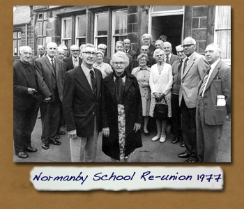 Normanby School 1914 Class Re-Union in 1977