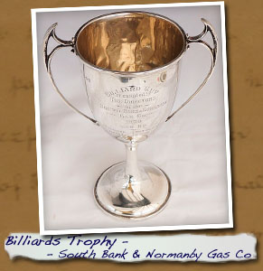 Billiards Trophy SbandNormanby Gas Co pic2