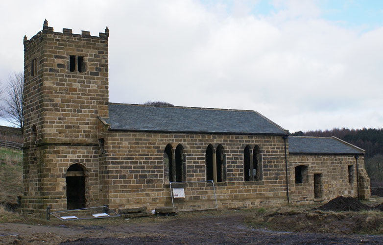 Saint Helens Church Rebuilt August 2012