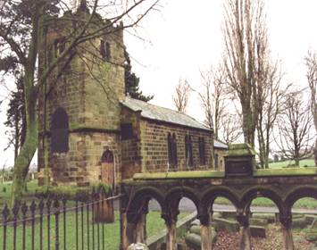 Saint Helens Church Boarded Up 1990