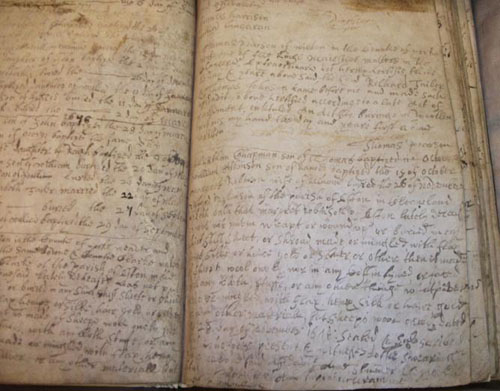 St Helens Parish Registers Page Eg 1676 Buried in Wool entry