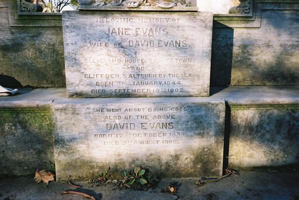 Evans Grade 2 Listed Monument 3