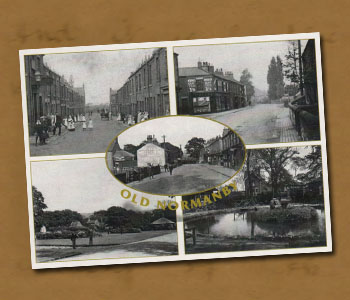 Postcard 4 of 5 pics of Old Normanby