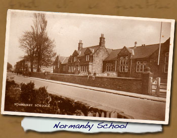 Postcard of Old Normanby School